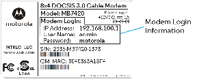 how to find the dns address in my modem